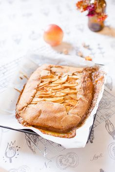 Apple Galette #vegan | the whinery