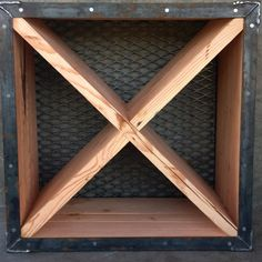 Industrial Wine Crate Custom Furniture, Crates, Shed, Industrial, Wine, Bespoke Furniture, Lean To Shed, Backyard Sheds, Coops