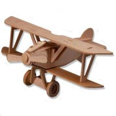 Shop All4LessShop-3-D Wooden Puzzle - Small Biplane Model Albatros Dv -Affordable Gift for your Little One! Item #DCHI-WPZ-P059 at best prices!