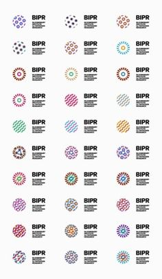 Identity for Bloomsbury Institute for Pathogen Research: Logo Variations #Generative