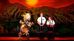 This comedy musical follows the plight of a pair of teenage Mormon missionaries sent to convert a village in a dangerous part of Uganda. #Ukevents #TreyParker