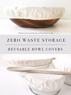 Low Waste Storage Options – Reusable Bowl Covers – Planted in the Woods