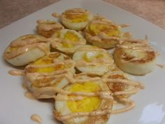 Egg Fast Recipe - Fried Boiled Eggs with. - Egg Fast Recipe – Fried Boiled Eggs with Yum Yum Sauce Best Picture For Fast Recipes party For - Eggfast Recipes, Low Carb Recipes, Healthy Recipes, Dinner Recipes, Quiche Recipes, Keto Egg Fast, Boiled Eggs, Hard Boiled, Recipes