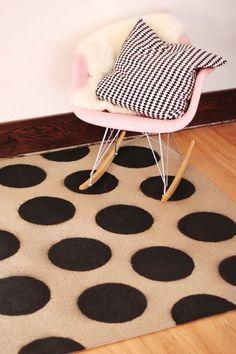 alfombra pintada