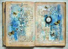 Altered Book Into Art Journal