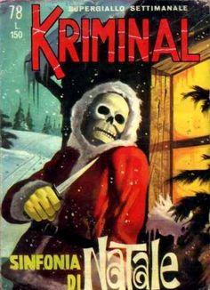 FANTASCIENTIFICAMENTE VINTAGE - Kriminal nr.78 (Dicembre 1966) Sinfonia di Natale...