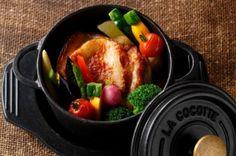 食材本来のおいしさが楽しめる! 渋谷東急イン、レストラン「ハシュハシュ」にて『ダッチオーブンコース』を販売中