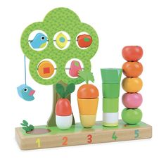 Help your little one Learn to Count with this Fun Vegetable set from Vilac. 5 Pretty Vegetables to stack & count and even a Potato to dig up! This retro toy is a g. Learn To Count, Retro Kids, Toy Camera, Musical Toys, Kids Running, Outdoor Toys, Lego Duplo, Wooden Toys, Counting