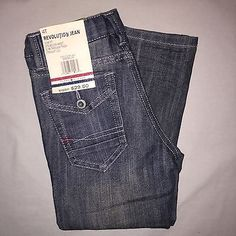 BOYS 4 4T TOMMY HILFIGER REVELUTION SLIM FIT JEANS NWT