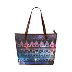 Aztec Tribal Shoulder Tote Bag (Model 1646) Totes b675da05f414b