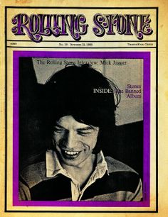 Rolling Stone cover -