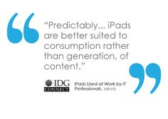 Mobile technology- iPads #IDG