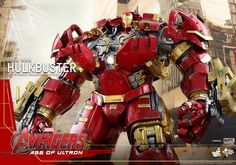 See 'Iron Man' Inside AVENGERS: AGE OF ULTRON's 'Hulkbuster' In New Hot Toys Images