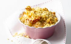 Totally Smokin': Salmon and prawn crumbles