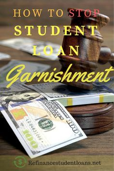 Consolidating student loans in garnishment of bank