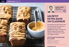 Recette: un petit extra dans un classique - La Presse+ Biscuits, Waffles, Cereal, Muffins, Brunch, Cookies, Breakfast, Desserts, Miniatures