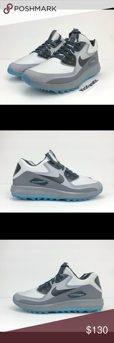 061fe08dec289 Nike Air Zoom 90 IT Golf Shoes Waterproof Grey Nike Air Zoom 90 IT Golf  Shoes Waterproof Grey Blue Black 844569-004 Men s US 9 NEW WITH BOX FAST  SHIPPING ...