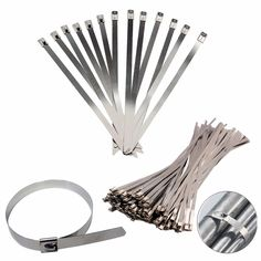 30cm Stainless Steel Zip Ties Straps Fits Motor Motorcycle Exhaust Header Wrap x 25pcs♦️ SMS - F A S H I O N 💢👉🏿 http://www.sms.hr/products/30cm-stainless-steel-zip-ties-straps-fits-motor-motorcycle-exhaust-header-wrap-x-25pcs/ US $2.38