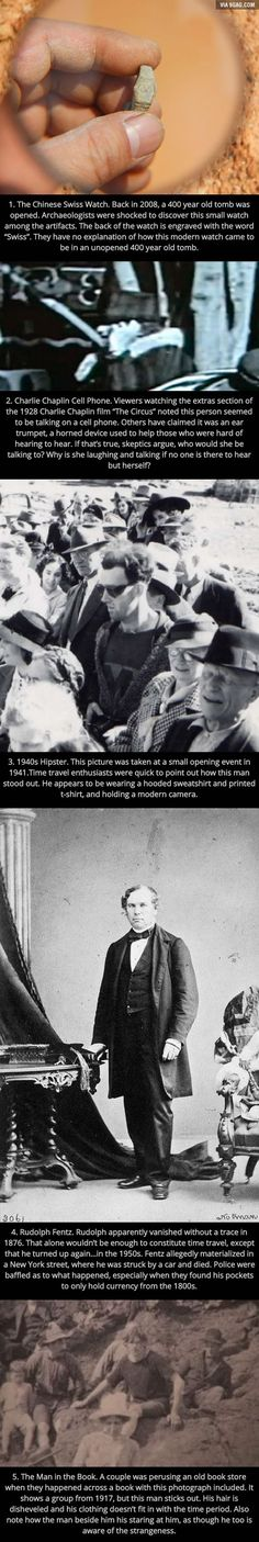 "5 Bizarre Pictures Which ""Prove"" Time Travel Exists"