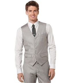Perry Ellis Big & Tall Solid Linen Jacket | Big & tall, Perry ...