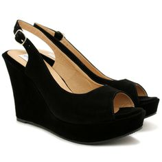 black mary jane low wedge ankle strap shoe | NEW WOMENS WEDGE CORK HEEL PEEP TOE SLINGBACK PLATFORM SHOES SIZE ...