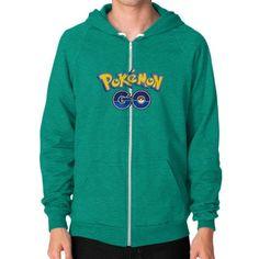 Pokemon GO Zip Hoodie (on man) Shirt