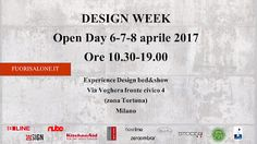 EVENTO: OPEN DAY Expereince Design il primo bed&show italiano www. Milano Design Week .org