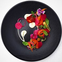 Colorful salmon salad by @semgrotenhuis  Join our Cookniche community and share your culinary passion with the world  Cookniche.com/Register