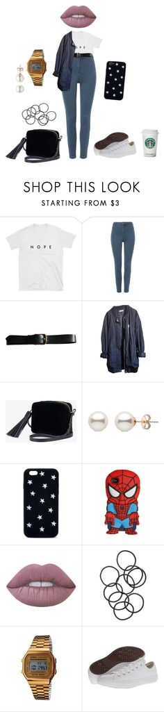 """👌🏼"" by lena1612 ❤ liked on Polyvore featuring Isabel Marant, Urban Outfitters, Anya Hindmarch, STELLA McCARTNEY, Marvel, Lime Crime, H&M, Casio and Converse"