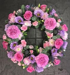 Please call us on 0121 730 2443 for all your Funeral flower enquiries or pop in and meet our friendly florists for a more personal service. Church Flowers, Funeral Flowers, Funeral Floral Arrangements, Flower Arrangements, Floristry For Beginners, Fresh Wreath, Funeral Tributes, Sympathy Flowers, Paper Flowers Diy