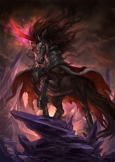 MLP Villains - King Sombra by sandara.deviantart.com on @deviantART