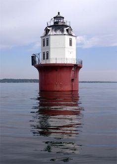 Baltimore Lighthouse Magothy River-Chesapeake Bay Maryland