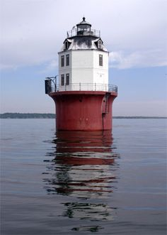 Baltimore Lighthouse Magothy River-Chesapeake Bay Maryland