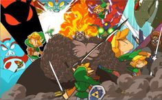 Link always vs ganon