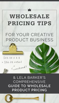 Get all your product pricing questions answered by Lela Barker, wholesale and pricing smartie!