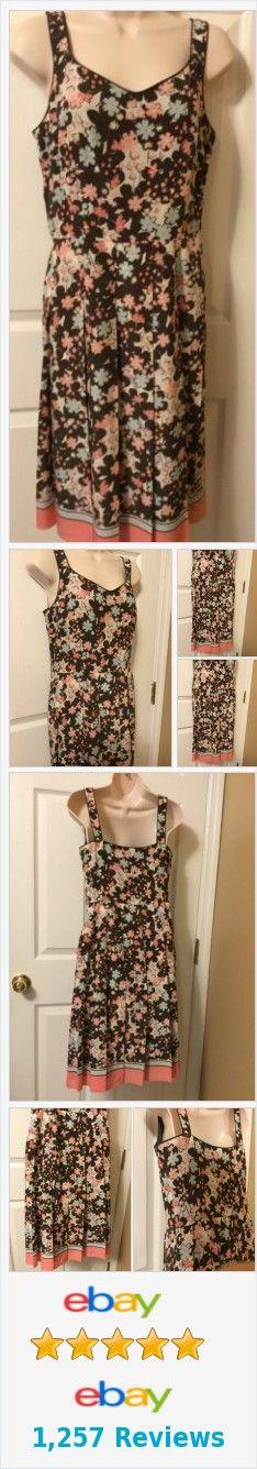 Ann Taylor Loft Womens Floral pink lined Size 6 sundress 100%silk http://www.ebay.com/itm/Ann-Taylor-Loft-Womens-Floral-pink-lined-Size-6-sundress-100-silk-/331841273862?hash=item4d43480006