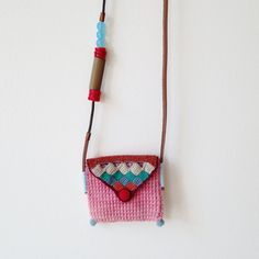 Long pouch necklace