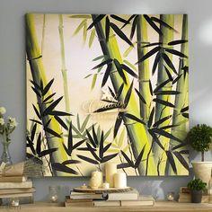 Abstract Canvas Art Ideas Simple 31 Ideas For 2019 Texture Painting On Canvas, Abstract Canvas Art, Acrylic Canvas, Simple Wall Art, Diy Wall Art, Bamboo Art, Art Corner, Zen Art, Tropical Art