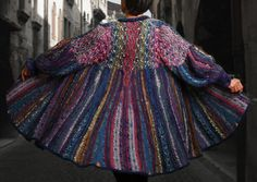 1 off. Hand knit Coat - Essence of Opal. $4,290.00, via Etsy.  I'm learning how to make this next