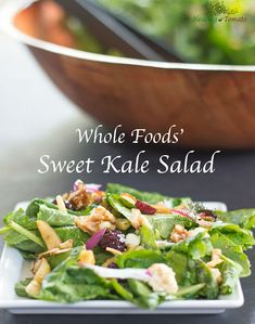 Sweet Kale Salad (whole Foods' Copy Cat) With Extra-virgin Olive Oil, Vinegar, Honey, Orange Juice, Sea Salt, Freshly Ground Black Pepper, Baby Kale, Snack Chips, Red Onion, Carrots, Dried Cranberries, Sunflower Seeds, Sliced Almonds, Chopped Walnuts, Feta Cheese Crumbles, Orange Zest