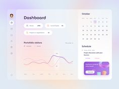 Project management Dashboard by Ghani Pradita for Paperpillar on Dribbble Ios App Design, Dashboard Design, Interface Design, Ui Design, Design System, Design Trends, Design Ideas, Graphic Design, Project Management Dashboard