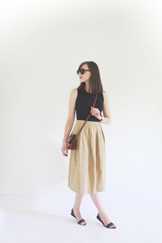 summer uniform // Style Bee - Time & Again