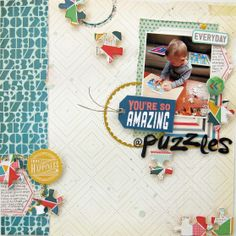 You're So Amazing at Puzzles... by audreykit at @Studio_Calico. Cool layers.