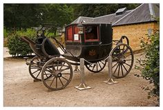 Stately locomotion - Antique carriage from Althorp Estate. (Ancestral home of Princess Diana.)