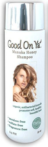 nice Hair Loss Prevention Shampoo - Natural & Organic Ingredients - Sulfate Free with Manuka Honey by GoodOnYa - Best Hair Products to Preserve Hair Color - Karatin Safe - Natural & Organic Ingredients - 20,000 Happy Customers - 8 oz