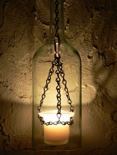 Medieval hurricane lantern.   How easy would this be to make!!! and looks cool too