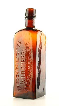 Old Medicine Bottles, Antique Glass Bottles, Vintage Bottles, Bottles And Jars, Mason Jars, Perfume Bottles, Coffee Tin, Bottle Labels, Flask