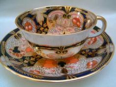 Royal Crown Derby IMARI cup & saucer c.1914 - looks like my Crown Derby..