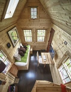Sheds bunkies on pinterest 46 pins for Bunkie interior designs