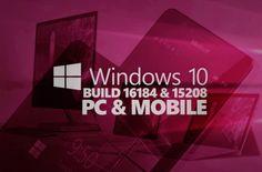 UNIVERSO NOKIA: Nuova Build Preview per PC e smartphone Windows 10...